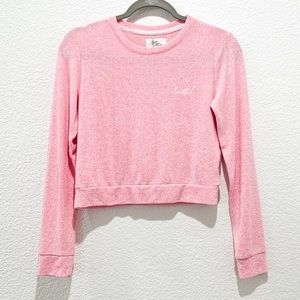 Love 💞to Lounge Soft Crop Sweater